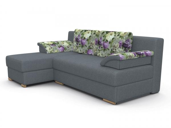 Угловой диван Лира без боковин 1500